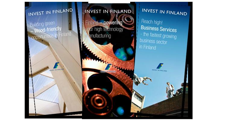 Printti / Finpro, Invest in finland: Markkinointimateriaalit