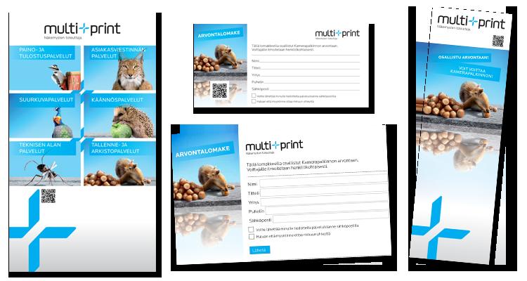 Printti / Multiprint: Mmarkkinointimateriaalit