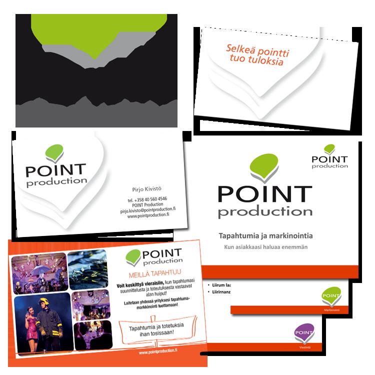 Imago / Pointproduction Oy: Logo, websivusto, officemateraalit, käyntikortit, lehti-ilmoituspohjat