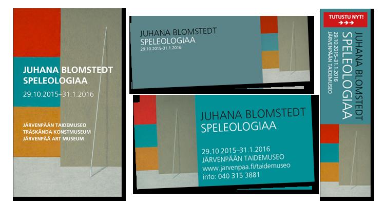 Markknointi / Juhana Blomstedt, näyttely: Markkinointimateraalit